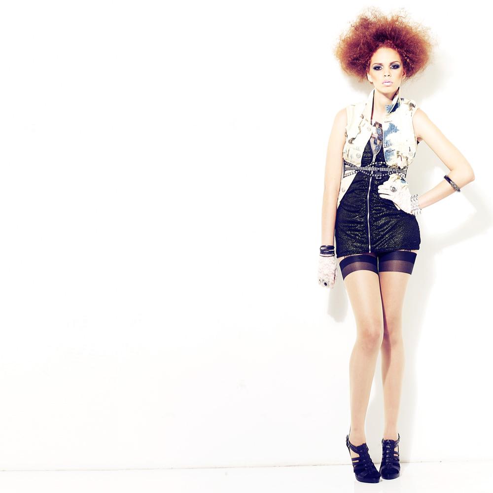 """""""Carla"""" featuring the model Carla Prieto."""